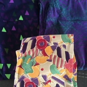 ❤️ Lot of 3 pairs of LulaRoe OS One Size Leggings!